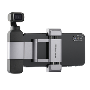 Image 5 - Pgytech Voor Dji Osmo Pocket 2 Accessoires Opvouwbare Telefoon Houder Plus Beugel Set Pgytech Nieuwste Product In Voorraad