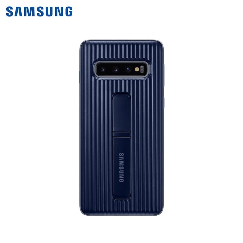Чехол-накладка Samsung EF-RG973C для Samsung Galaxy S10 аксессуар чехол samsung ef qg975 для samsung galaxy s10 transparent ef qg975ctegru