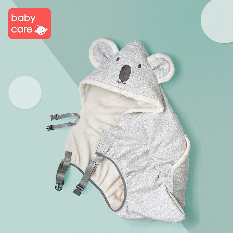 Baby Swaddle Wrap Knit Envelope Newborn Sleeping Bag Baby Warm Swaddling Blanket Infant Stroller Sleep Sack Footmuff