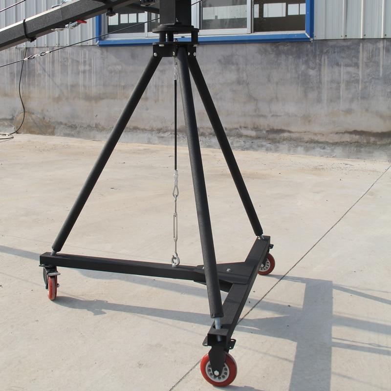 Schwenkkran 10m 3-Achs-Schwenk-Neigekopf Tragbarer Kamerakran DSLR - Kamera und Foto - Foto 4
