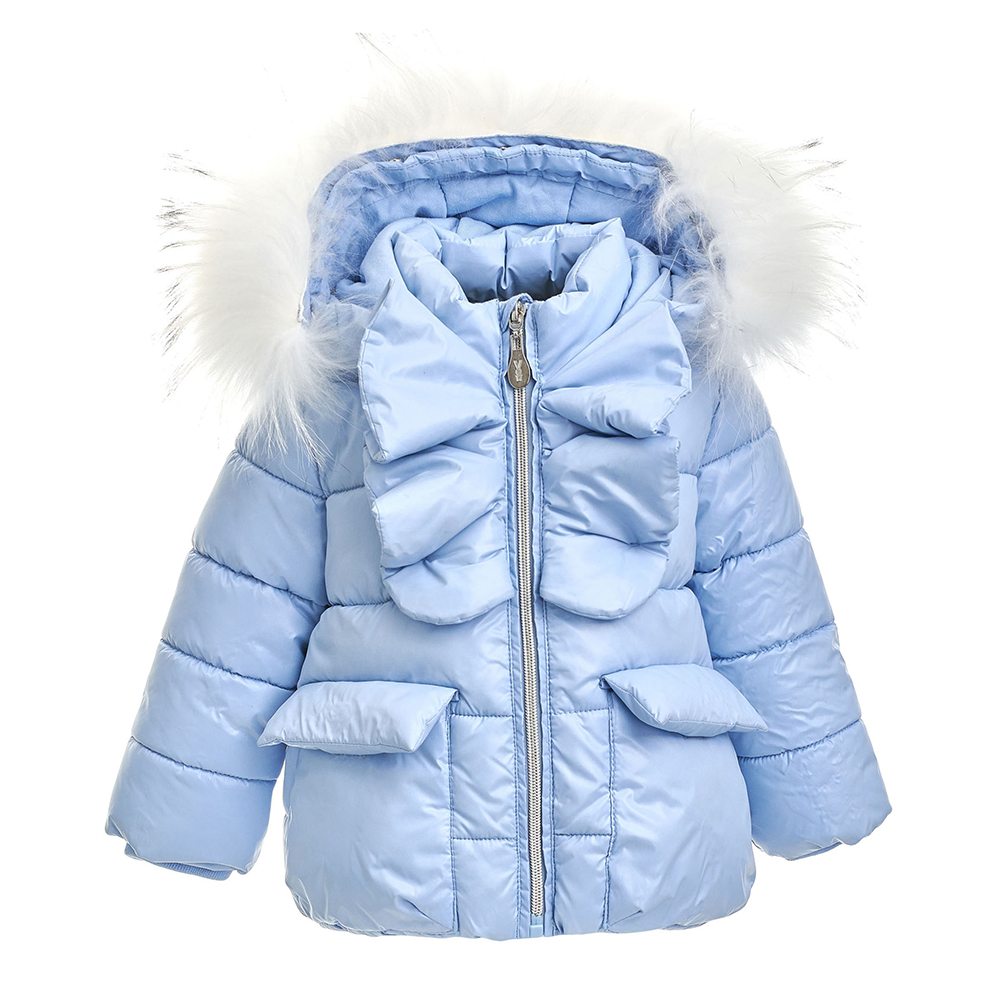Jackets & Coats Gulliver for girls 21831GBC4102 Jacket Coat Denim Cardigan Warm Children clothes Kids flap button pocket stripe collar denim jacket