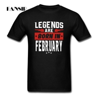 Men T Shirts Online Designer Short Sleeve Cotton Custom Shirt Men Boy Legends Are Born In