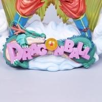 Figura Dragon Ball Son Goku Figura MSP Super Saiyan A Escova figura PVC 240mm Bola Dragão Figura de Ação Z DBZ DragonBall Z