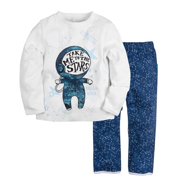 Пижама джемпер+брюки BOSSA NOVA для мальчиков 362s-361