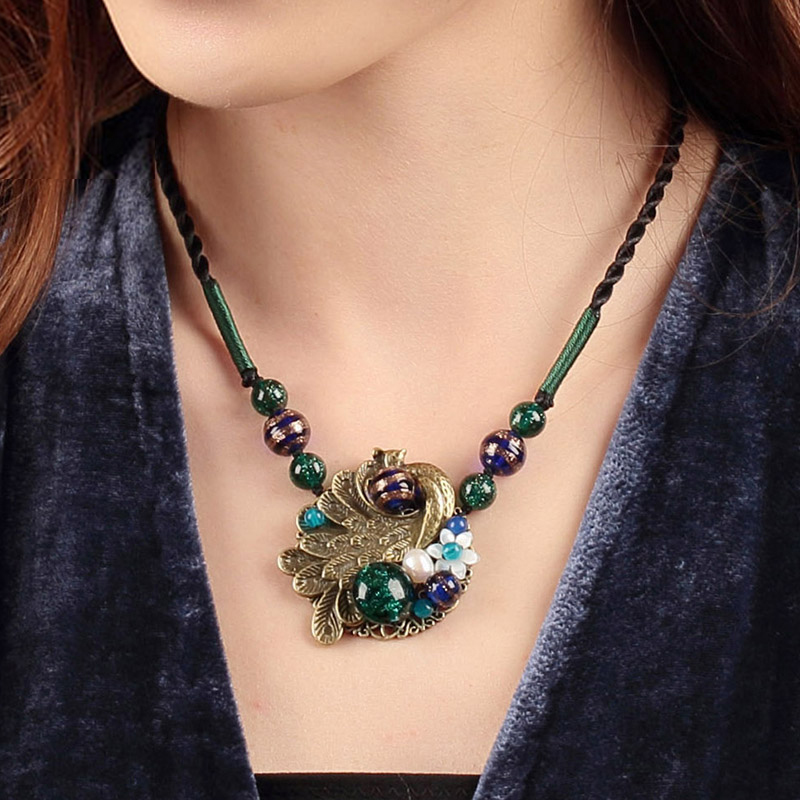 Natural Party Fashion Choker Jewelry Accessories Handmade Jewelery Gift Necklaces & Pendants For Women Chain Necklace natural stone beads necklaces rope necklaces freeform large beads necklace fashion jewelry for party women gift