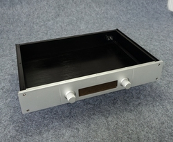 BZ4307J All Aluminum Chassis Audio Remote Control Case DIY Preamplifier Enclosure Box Shell 430MM*70MM*308MM