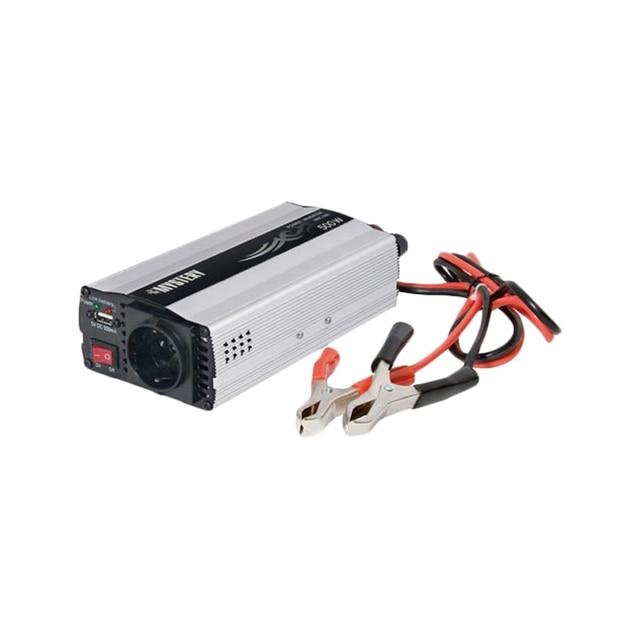Преобразователь напряжения MYSTERY MAC-500 ( Входное напряжение: 10 - 15В. Выходное напряжение: 230 В(+/- 5%). Частота выходного напряжения: 50Гц(+/- 5%), Максимальная выходная мощность: 500Вт)