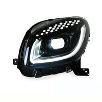 Headlights Styling Automovil Neblineros Assessoires Drl Luces Para Auto Accessory Car Led Lights For Mercedes Benz Smart