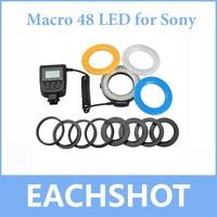 Travor Macro LED Ring Flash Light /Speedlite 48 LED for Sony Alpha A37 A57 A67 A77 NEX7