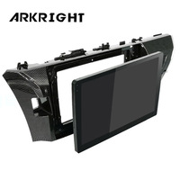 ARKRIGHT 10.1'' Car Radio GPS Android 8.0 system unit car stereo for Toyota Corolla 2015 2016 2014 IPS screen auto Player OBD2