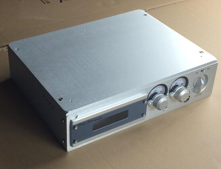 BZ3208B All Aluminum Audio Enclosure Luxury Preamplifier Chassis Power Amp Case DIY Amplifier Box цена 2017