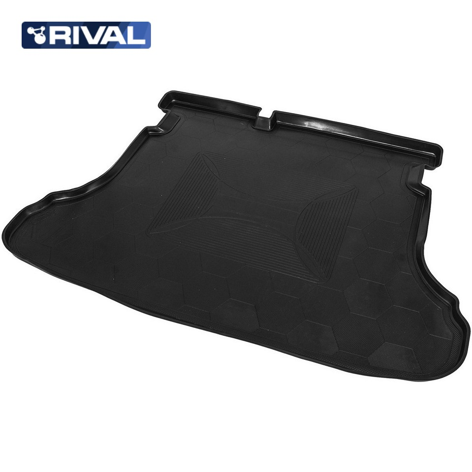 лучшая цена For Lada Vesta SEDAN 2015-2019 trunk mat Rival 16006002