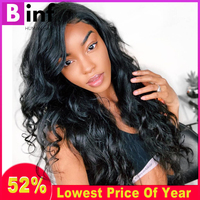 Brazilian Body Wave Lace Front Human Hair Wigs For Women Pre Plucked With Baby Hair 8 24 Inch Brazilian Remy Hair Natural Color