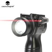 emersongear Night Vision Laser Red Dot Sight Flashligh STL 300J Weapon Light Black Pistol Lanterna Airsoft Tactical Rifl Scope