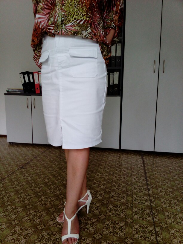 Fashion Summer Women Denim Pencil Split Skirt High Waist Sexy Work Wear Ladies Skirts photo review