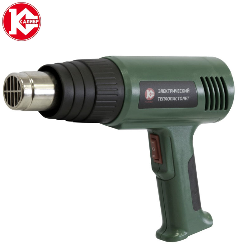 Kalibr TP-1950 Heat Gun Shrink Wrapping Heater Nozzle Thermoregulation Heat Gun kalibr tp 2100 electric hot air gun thermoregulator heat guns shrink wrapping thermal power tool
