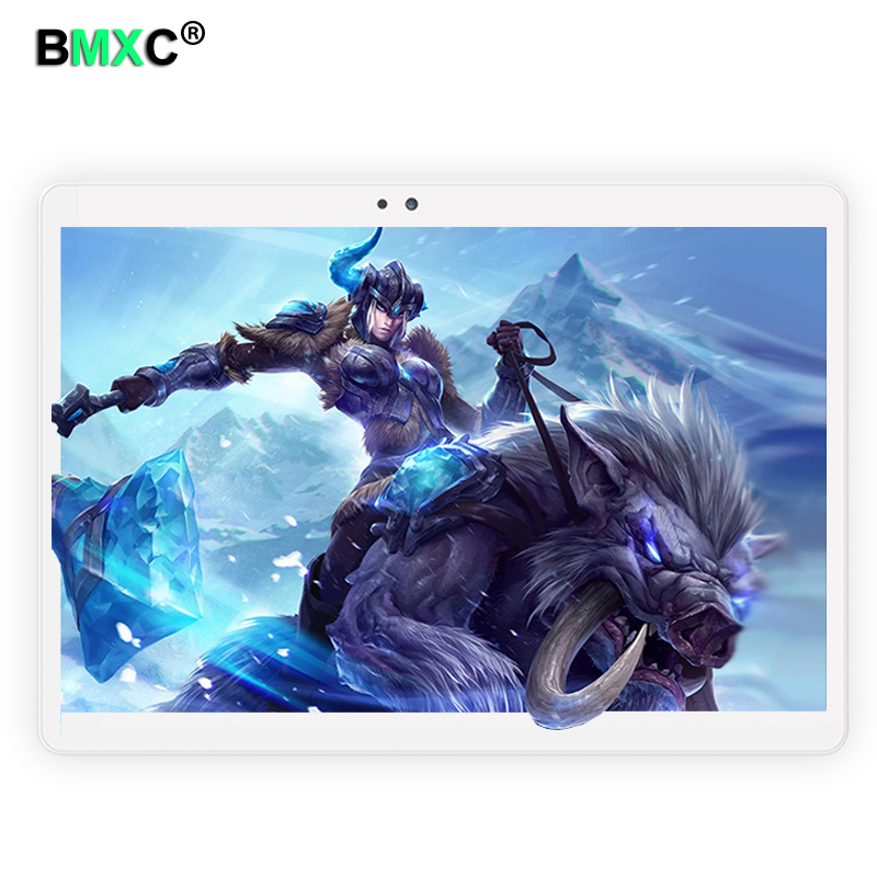 2017 Android tablet PC 10.1 inch Octa Core 4G Phone Call 4GB RAM 64GB ROM 1920*1200 IPS Dual Cameras GPS Tablets 10 10.1 created x8s 8 ips octa core android 4 4 3g tablet pc w 1gb ram 16gb rom dual sim uk plug
