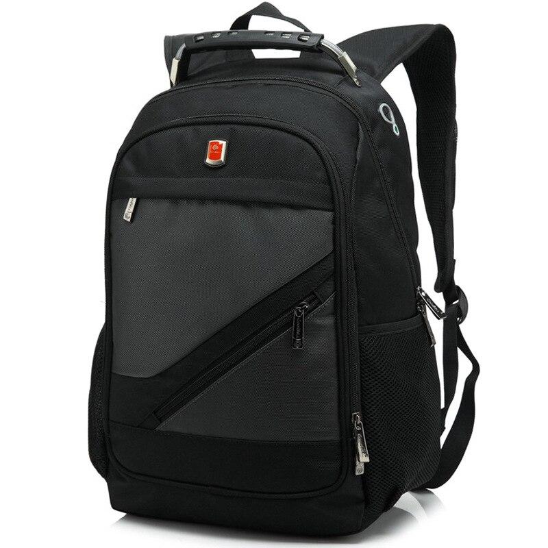 Sac à dos suisse pour homme sac de voyage pour ordinateur portable mochila étanche multifonction - 4