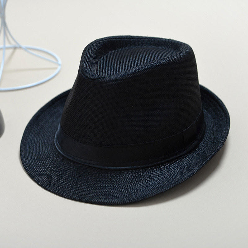 UTB8VuQiwyaMiuJk43PTq6ySmXXax - 2018 England Retro Men's Fedoras Top Jazz Plaid Hat Spring Summer Autumn Bowler Hats Cap Classic Version chapeau Hats