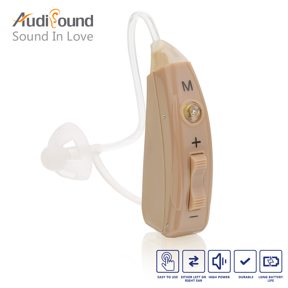 Rechargeable ear hearing aid mini device ear amplifier digital hearing aids behind the ear for deaf elderly acustico hearing aid clear voice behind the ear hearing aids available aerophone volume adjustable deaf people ear caring newest device