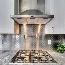 Нержавеющая сталь, сделай сам, водостойкая Настенная Наклейка для ванной комнаты, 3D Классическая наклейка s Muraux, огнеупорная Adesivo De Parede 30*30 см