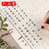 New 10pcs/set University/moderation Pen Copybook For Adult Groove Chinese Character Exercise Beginners Practice Calligraphy