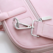Fashion Protective Waterproof Leather Laptop Bag