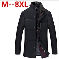 10XL 9XL 8XL 6XL 5XL Brand Clothing Men Winter Coat Jacket Casual Cotton Coat Male Cotton Quality Fashion Long Down Jacket Coat