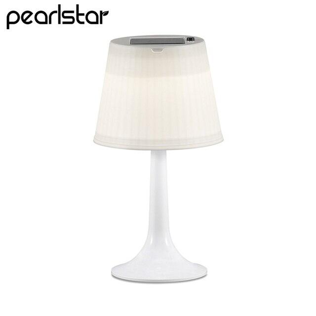 Pearlstar Indoor Decoration Solar Table Lights For Living Room Night Sleeping Desk Lamps Led Outdoor
