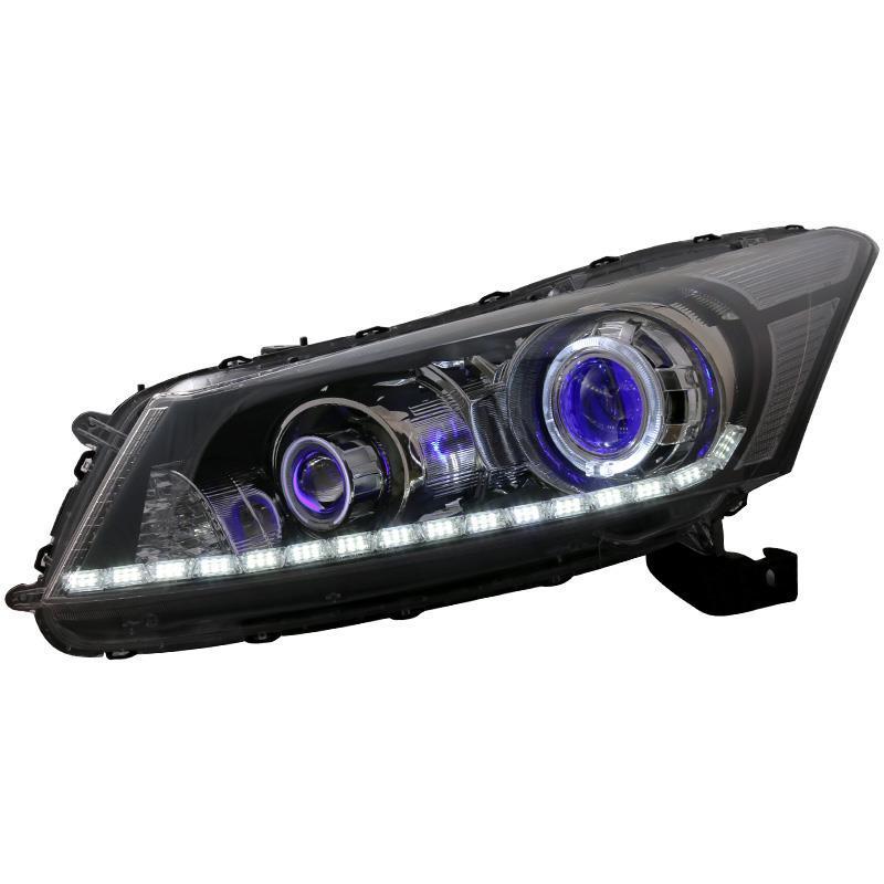 Передние противотуманные задние фары Cob лампы боковые поворотники Neblineros Para Автомобили Авто Стайлинг светодио дный фонари для Honda Accord