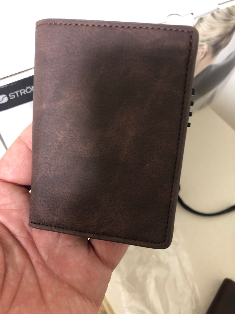 BISI GORO New Slim Credit Card Holder Wallet Aluminium Men Women Metal Wallet for Cards Business Card Package RFID Protector photo review