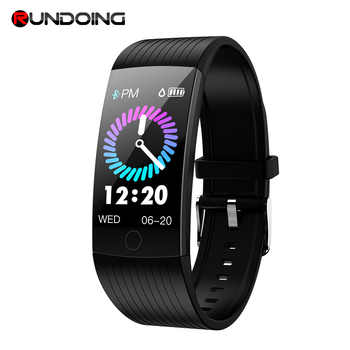 RUNDOING Q18 1.14 inch screen smart band IP68 waterproof smart wristband bracelet Fitness tracker smartband For Android and IOS - DISCOUNT ITEM  28% OFF All Category