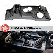 Тоннель покрытие для пола для Лада Нива 4×4 1986-2018 под ногами аксессуары внутренний защитный ковер украшение автомобиля Стайлинг