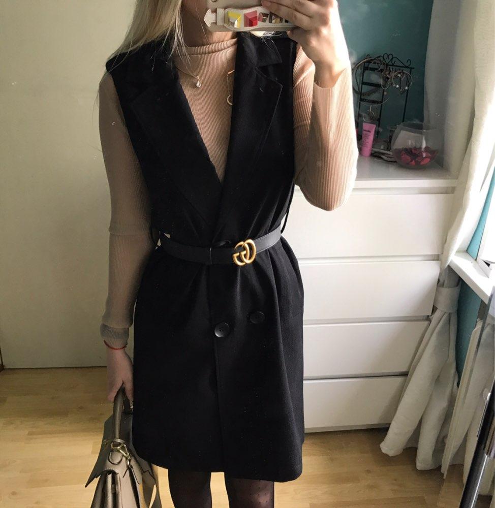 Интересное платье-жилет с Алиэкспресс