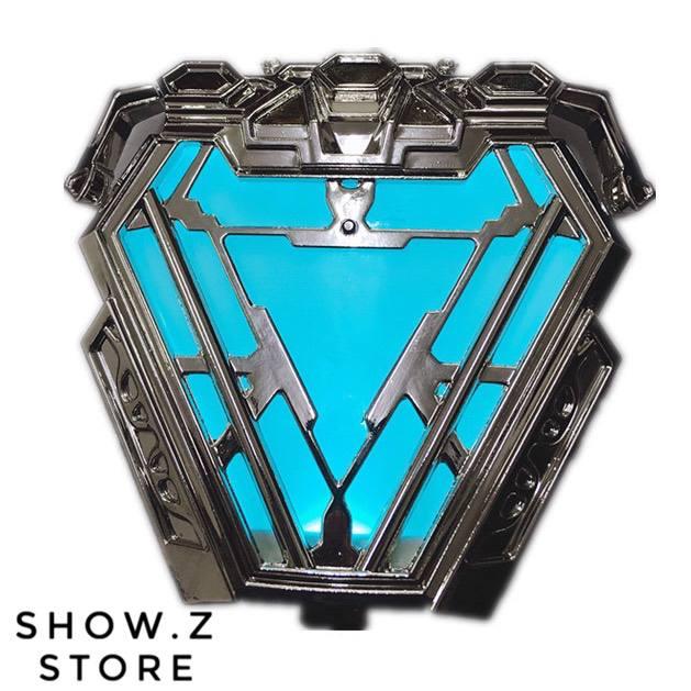 [Show. Z Store] Cattoys chat jouets CT 1/1 fer homme Uni-faisceau marque 50 Arc réacteur IronMan MK50 w/éclairage Prop
