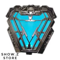 [Show.Z Store] Cattoys Cat Toys CT 1/1 Iron Man Uni beam Mark 50 Arc Reactor IronMan MK50 w/ Lighting Prop