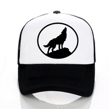 Wolf Baseball caps summer Men and women trucker cap Casual outdoor Mesh hip hop snapback hats
