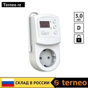 Terneo rz - electronic thermostat in control heaters sensor