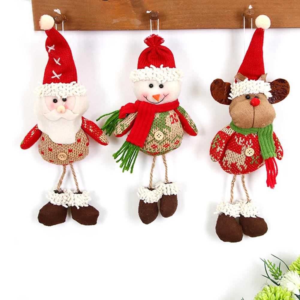 Xmas Tree Hanging Ornaments Pendant Sale Santa Claus ...