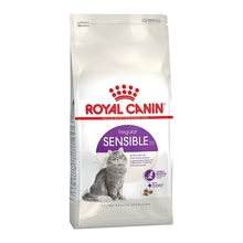 Royal Canin Sensible корм для кошек с чувствительной пищеварительной системой в возрасте с 1 года до 7 лет, 2 кг
