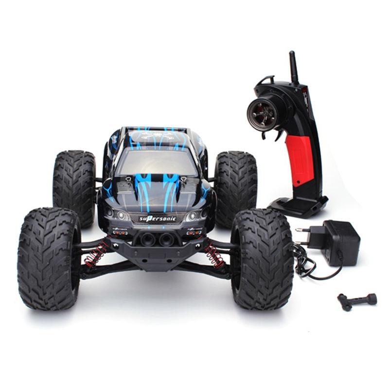 Оптовая продажа 9115 RC автомобилей 1/12 2,4 ГГц 2WD щеткой RC удаленного Управление Monster Truck RTR