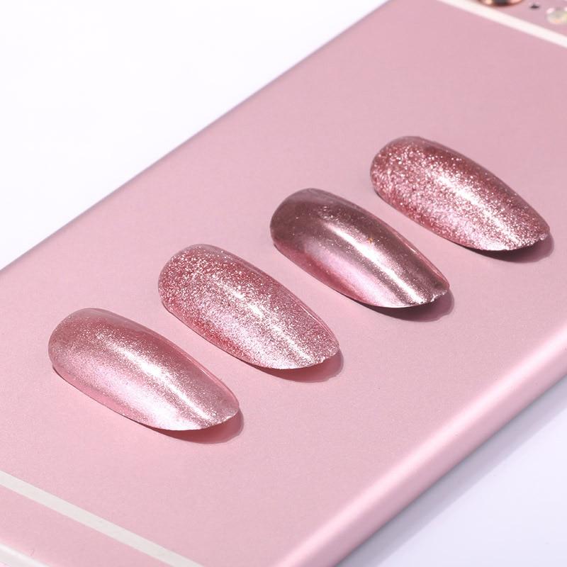 ROSE GOLD Chrome Mirror Powder Pigment for Nail art 0.2/0.5 Glitter Rose Gold Art