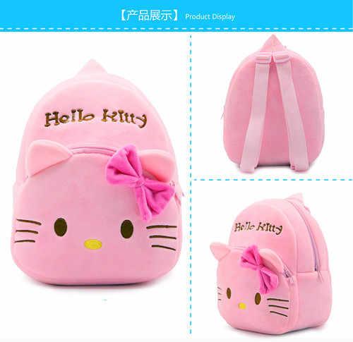7b426e069 ... Xingkings New Women Girl Hello kitty Bags Black Backpack bag Purse  School Bag KX-B0913 ...