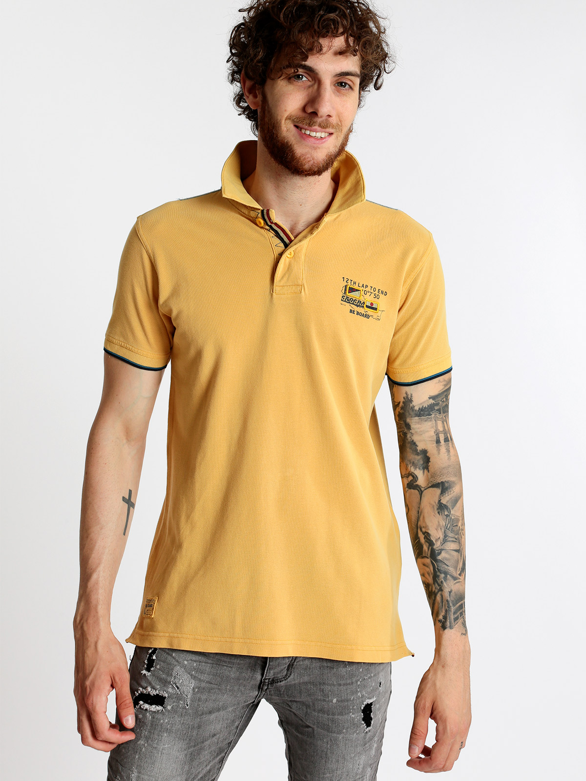BE BOARD short-sleeved   polo   shirt men