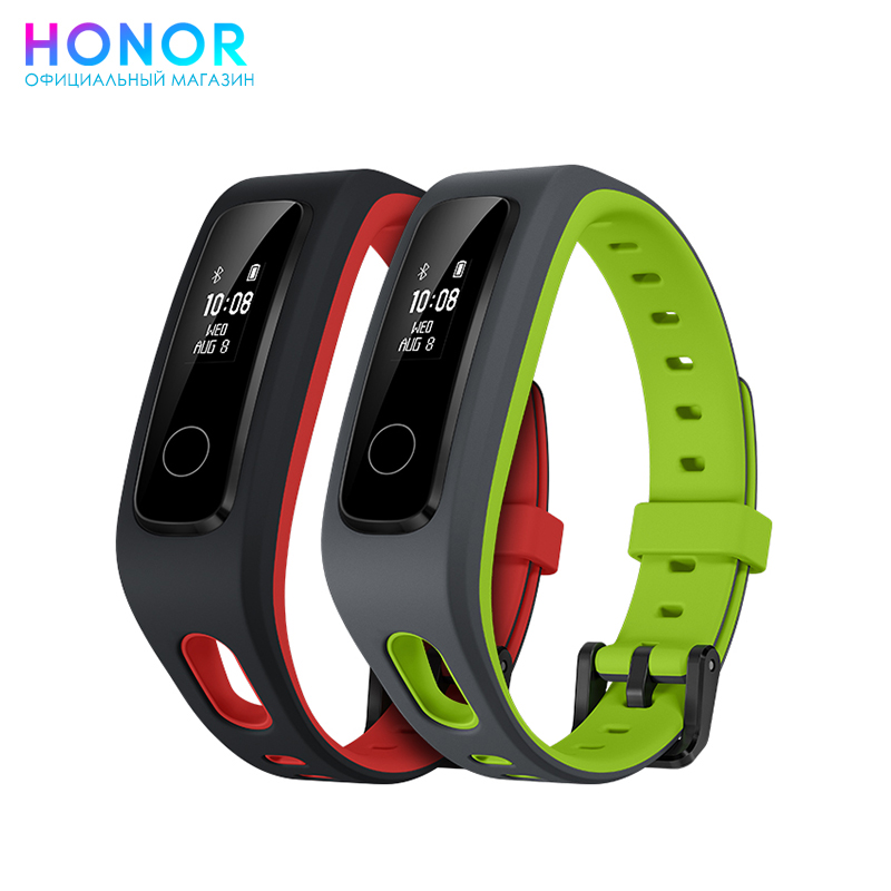 Fitness tracker Honor Band 4 Running id115 smart bracelet fitness tracker green