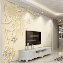 Specializing in the production of custom high-end murals, manufacturers wholesale wallpaper murals TV background photo wall