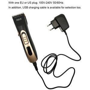 Image 5 - PULIS Universal Homens máquina de Cortar Cabelo Elétrica Profissional Aparador de Pêlos Recarregável Máquina Corte de cabelo Penteado para Casa Barbearia 9150