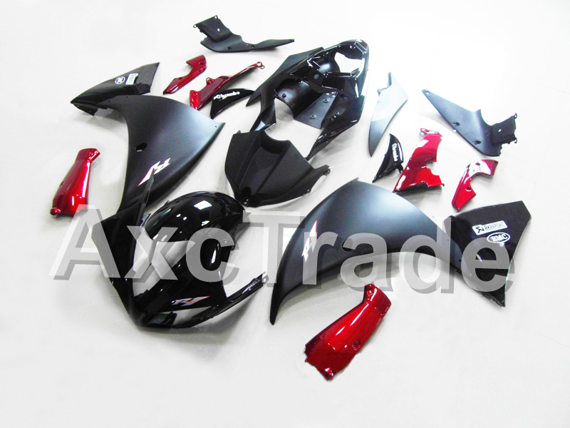 Motorcycle Fairings For Yamaha YZF R1 1000 YZF-R1 YZF-R1000 2009 2010 2011 ABS Plastic Injection Fairing Bodywork Kit Black Red high quality abs fairing kit for yamaha r1 2002 2003 red flames in black fairings set injection molding yzf r1 02 03 yz32