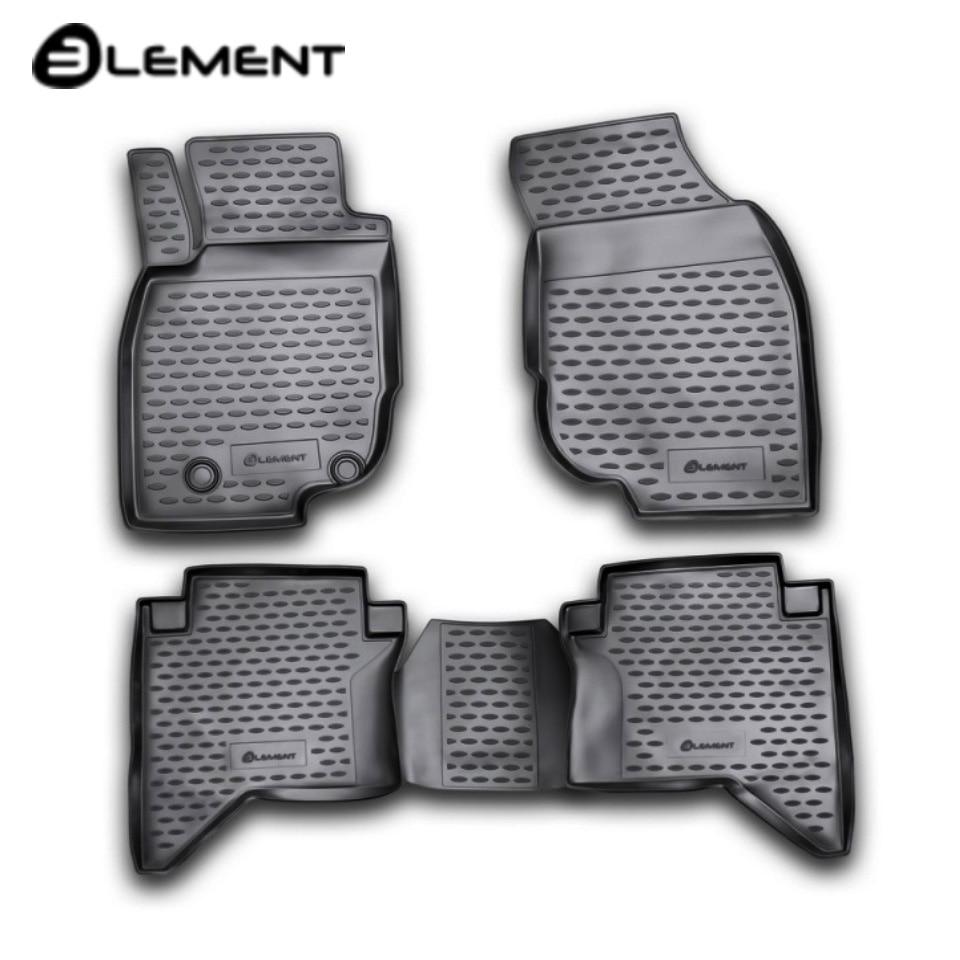 For Toyota Hilux 2011-2015 floor mats into saloon 4 pcs/set Element NLC4852210K