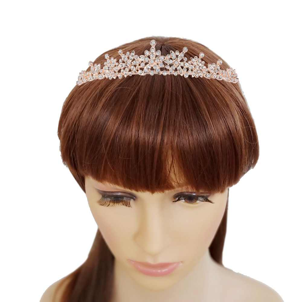 Detail Feedback Questions about Sparkling Silver and Gold Pearl Bridal  Tiara Crown Headpiece For Women Hair Decorations Wedding Bride Hair Jewelry  ... 9648304050b